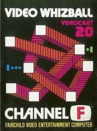 Videocart 20: Video Whizball Box Art