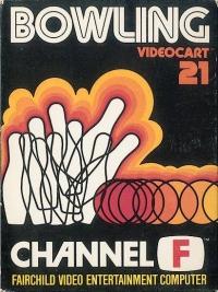 Videocart 21: Bowling Box Art