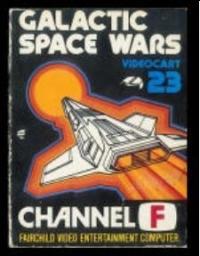 Videocart 23: Galactic Space Wars Box Art