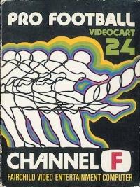 Videocart 24: Pro Football Box Art