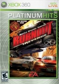 Burnout Revenge - Platinum Hits Box Art