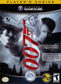 007: Everything or Nothing - Player's Choice Box Art