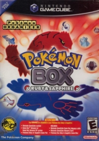 Pokémon Box: Ruby & Sapphire Box Art