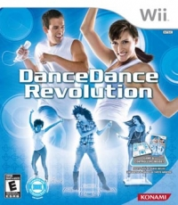 Dance Dance Revolution (Game and Controller) [NA] Box Art