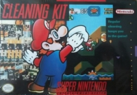 Super Nintendo Cleaning Kit (Mario) Box Art