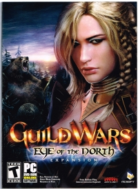 Guild Wars: Eye of the North Box Art
