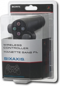Sony Sixaxis Wireless Controller (black) Box Art