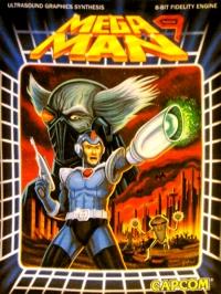 Mega Man 9 Box Art