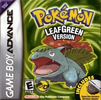 Pokémon: Leaf Green Version Box Art