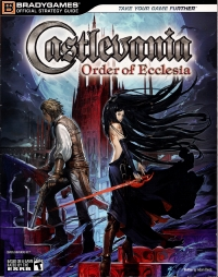Castlevania: Order of Ecclesia - Official Strategy Guide Box Art