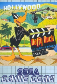 Daffy Duck in Hollywood Box Art