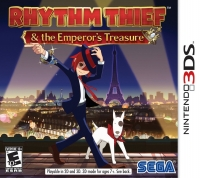 Rhythm Thief & the Emperor's Treasure Box Art
