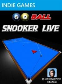 21 Ball Snooker LIVE Box Art