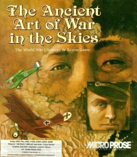 Ancient Art of War in the Skies,The Box Art