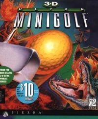 3D Ultra Mini Golf Box Art