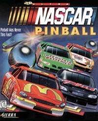 3D-Ultra NASCAR Pinball Box Art
