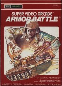 Armor Battle (Super Video Arcade) Box Art
