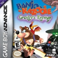 Banjo-Kazooie: Grunty's Revenge Box Art