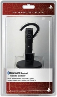 PlayStation 3 Wireless Bluetooth Headset Box Art