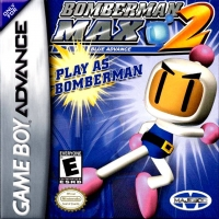 Bomberman Max 2: Blue Advance Box Art