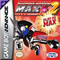 Bomberman Max 2: Red Advance Box Art