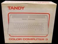 Color Computer 3 Box Art
