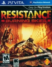 Resistance: Burning Skies Box Art