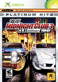 Midnight Club 3: DUB Edition Remix Box Art