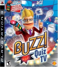 Buzz! Quiz TV (Four Wireless Buzz! Buzzers Included) Box Art