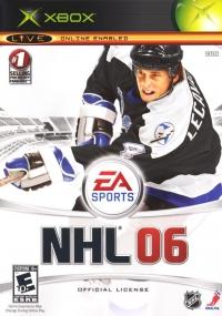 NHL 06 Box Art