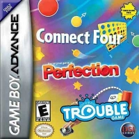 Connect Four / Perfection / Trouble Box Art