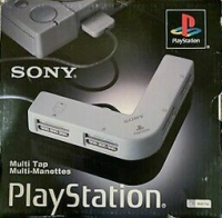 PlayStation Multitap (Gray) Box Art
