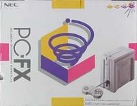 PC-FX Box Art