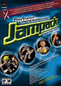 PlayStation Underground Jampack Winter 2001 Box Art