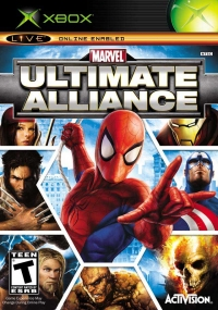 Marvel Ultimate Alliance Box Art