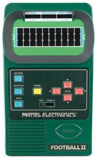 Mattel Classic Football 2 Box Art