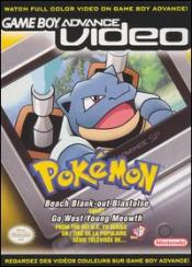 Game Boy Advance Video: Pokémon - Beach Blank-Out Blastoise / Go West Young Meowth Box Art