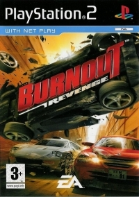 Burnout Revenge Box Art