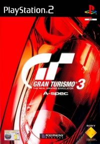 Gran Turismo 3: A-Spec Box Art