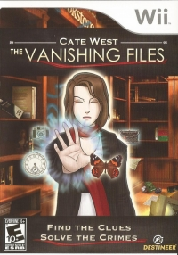 Cate West: The Vanishing Files Box Art