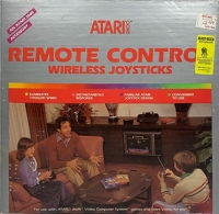 Atari Remote Control Joysticks Box Art