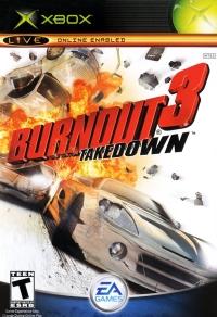 Burnout 3: Takedown Box Art