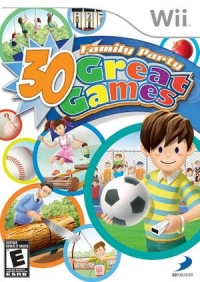 Family Party: 30 Great Games Box Art