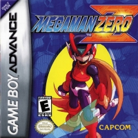 Mega Man Zero Box Art