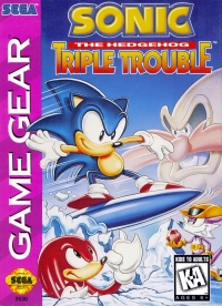 Sonic the Hedgehog: Triple Trouble Box Art