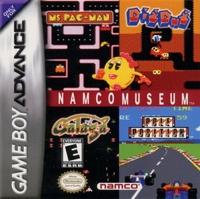 Namco Museum Box Art