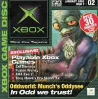 Official Xbox Magazine Disc 02 January  2002 Box Art