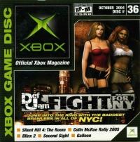 Official Xbox Magazine Disc 36 October 2004 Box Art