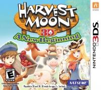 Harvest Moon 3D: A New Beginning Box Art
