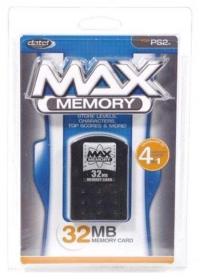 Datel Max Memory 32MB Memory Card Box Art